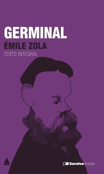 Livro De Bolso Germinal Émile Zola Literatura França Romance