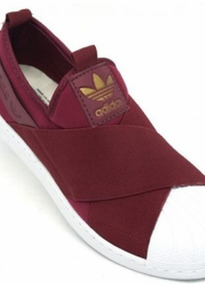 adidas Slip On Elástico Kit 2 Pares 100% Original Com Caixa
