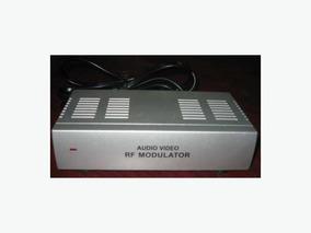 Kit 10 Pç Modulador Rf, Áudio E Vídeo Novo 110v