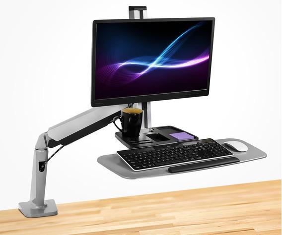 Soporte Ajustable Para Monitor Y Teclado Mount-it