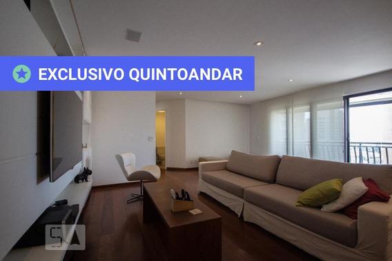 Apartamento No 17º Andar Mobiliado Com 3 Dormitórios E 3 Garagens - Id: 892993686 - 293686