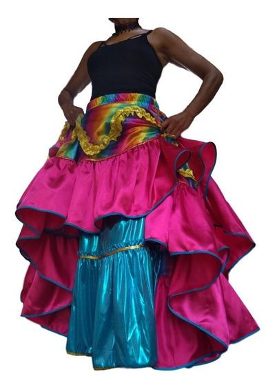 Saia Para Dança Cigana Eventos Espetáculos Show Fantasia