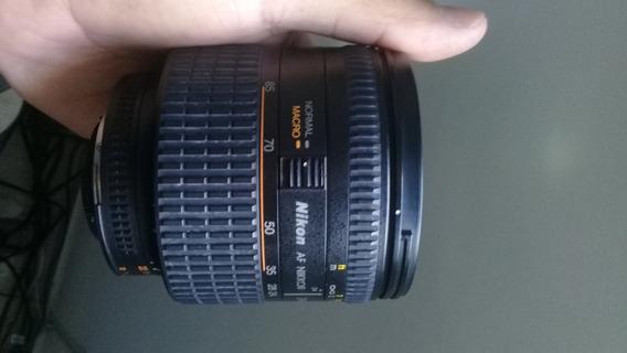 Lente Nikon 24-85 2.8-4 D - Full Frame E Dx - Macro