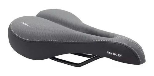 Asiento Bicicleta Van Halen 601 Gel Prostatico Cuero Foam