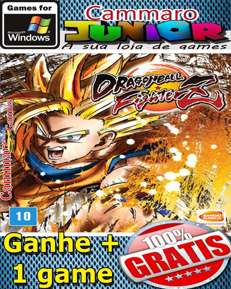 Dragon Ball Fighterz Em Português + 3 Games Grátis