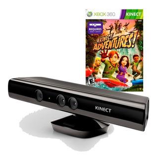 Kinect Para Xbox360 Con Kinect Adventure Excelente Estado