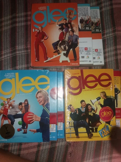 Box Glee Temporadas 1-3