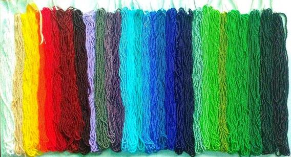 Chaquira Calibrada 32 Colores