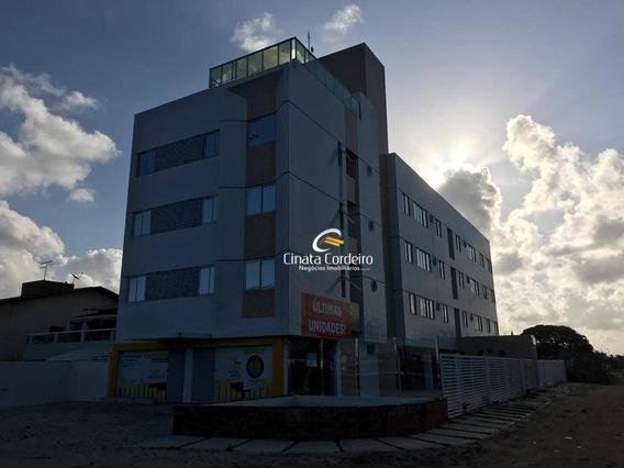 Apartamento Com 1 Dormitório À Venda, 34 M² Por R$ 154.900 - Areia Dourada - Cabedelo/pb - Ap2450