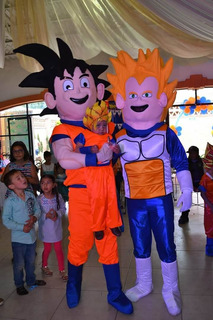 Botargas De Goku Y Vegeta