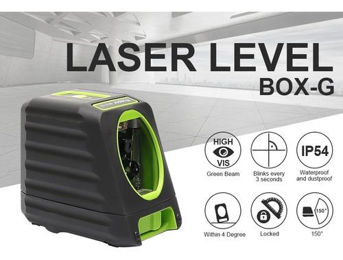 Imagen 1 de 5 de Nivel Láser Huepar Box 1g - Luz Verde Para Exterior