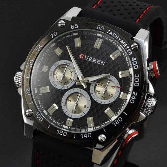 Relógio Masculino Curren Analógico 8146 Quartz