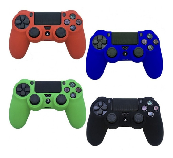 Capa Case Silicone Controle Ps4 Playstation 4