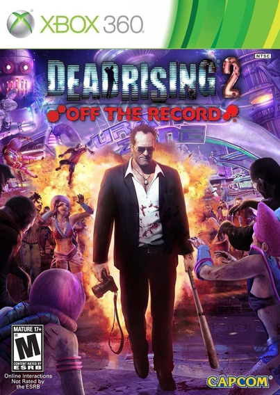 Jogo Xbox 360 Dead Rising 2 Off The Record Novo Lacrado!