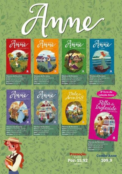 Série Completa Anne With E Com 8 Livros Ciranda Cultural