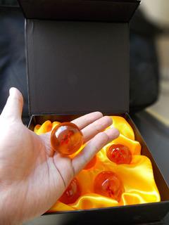 Dragon Ball Z Caja Con 7 Esferas Del Dragon Envio Gratis !