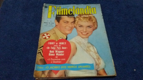Revista Filmelandia Nº 52 - Março De 1959 - Raridade
