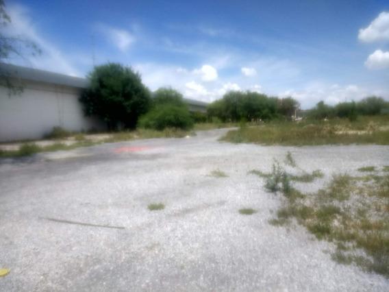 Renta Terreno Ubicado Sobre La Carretera A Villa De Garcia