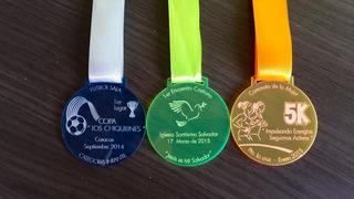 Medallas A 10mil Bs Acrílicas De 5cm, Premiaciones, Eventos
