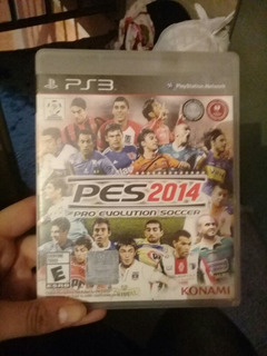 Juego Ps3 Pro Evolution Soccer