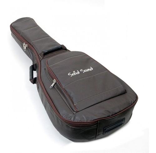 Imagem 1 de 3 de Capa Bag Violão Lt Br Solid Sound