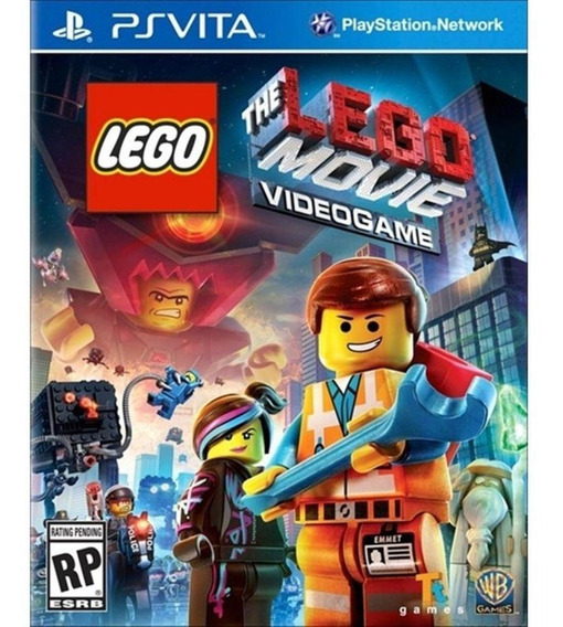 Jogo Infantil Psvita The Lego Movie Videogame