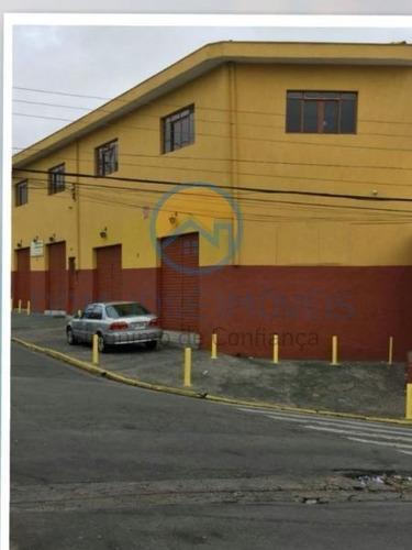 Salão Comercial Para Locação Em São Paulo, Jardim Lídia, 2 Banheiros - Sl057_2-1022364