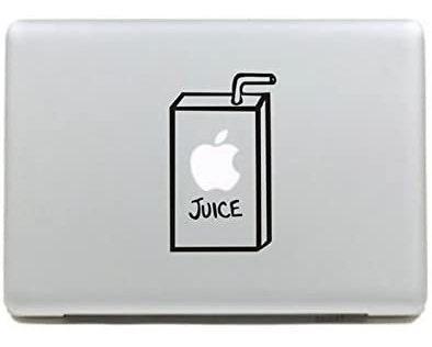 Apple Juice Box - Adhesivo Decorativo Para Macbook De 13 Pul