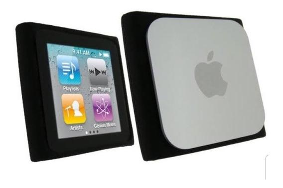 Case De Borracha Para iPod Nano