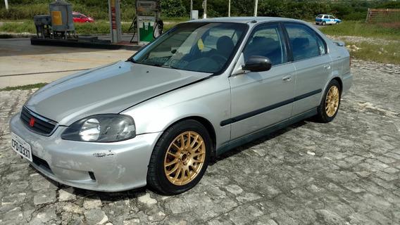 Honda Civic 1.6 Lx 4p Turbo 220cv