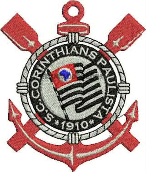 Corinthians Patch Bordado Envio Imediato