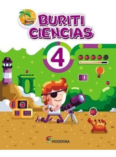 Livro Projeto Buriti Ciencias 4 Editora Moderna
