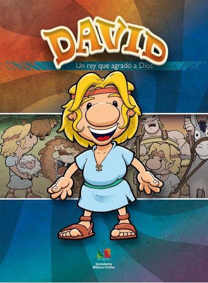 Porciones Bíblicas - Dibujos Para Colorear - Rey David X 20