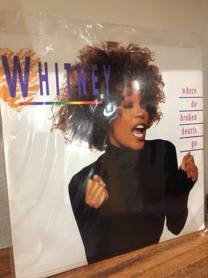 Single Importado - Whitney Houston - Where Do Broken H. Go
