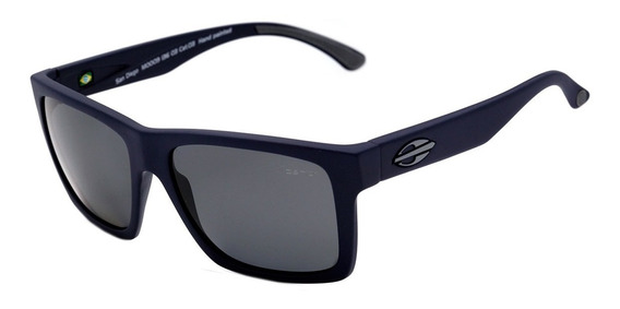 Óculos De Sol Mormaii San Diego Azul Lente Cinza Polarizado