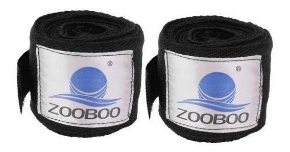 2pcs Boxe Handwraps Bandagem Puncionamento Mão Envoltório Lu