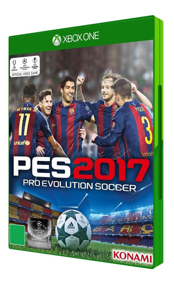 Jogo Pes 2017 Pro Evolution Soccer Mídia Física   Vitrine