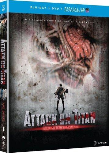 Blu-ray Ataque Dos Titans O Filme Parte 1 Duplo Luva