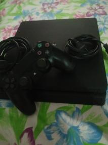 Playstations 4 Slim+4 Jogos,1 Controle,1tb De Memoria