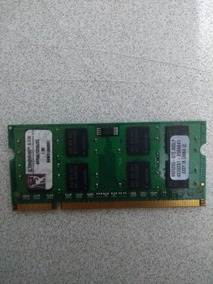 Memória Ram Notebook Ddr 2 Kingston