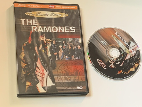 Dvd The Ramones The Rock Story Of