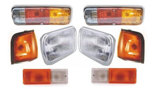 Stop Direccional Farola Bomper Chevrolet Luv 2300 Kit Juego
