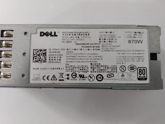 Fonte Dell 870w R710 T610 N870p-s0 Yfg1c A870p-00 07nvx8