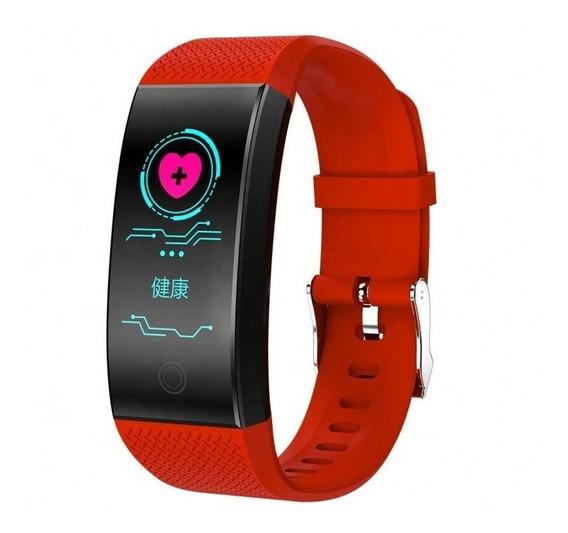 Pulsera Inteligente Con Monitor De Presión Y Ritmo Cardíaco.