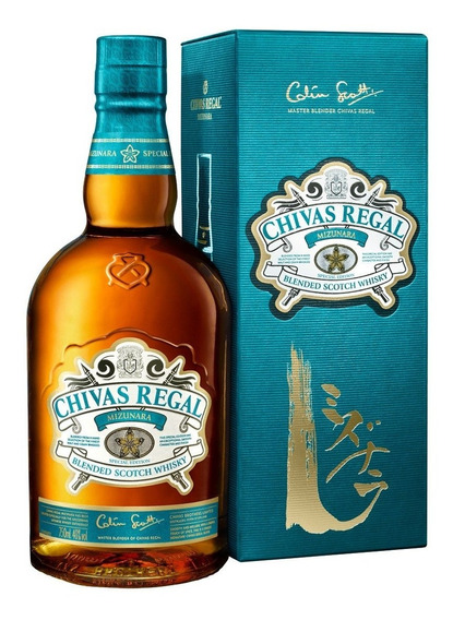 Chivas Regal Mizunara Whisky Escocés Botella 700 Ml+ Estuche