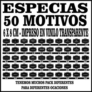 venta caliente barato 2019 original materiales de alta calidad Etiquetas Para Especias en Mercado Libre Argentina