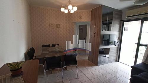 Imagem 1 de 30 de Apartamento, 70 M² - Venda Por R$ 495.000,00 Ou Aluguel Por R$ 1.991,67/mês - José Menino - Santos/sp - Ap5581