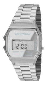 Relógio Mormaii Feminino Vintage Prata Mojh02aa/3c - Nf-e