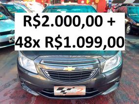 Chevrolet Onix 1.0 Lt Completo - R$2.000 + 48x R$1.099,00