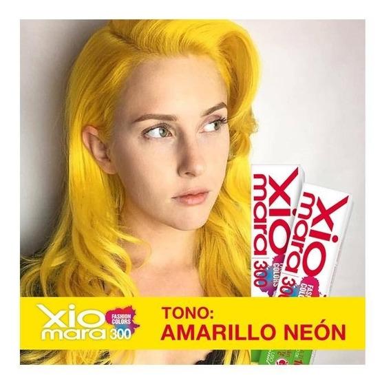 2 Cajillas Tono Amarillo Neón X300fc